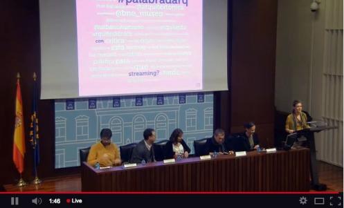 #PalabradArq (streaming 12-12-2013)
